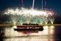 Feuerwerk am Oberkasseler Rheinufer