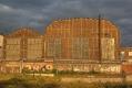 zwei verbliebene Krupp-Hallen