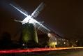 Hiesfelder Windmühle zu später Stunde