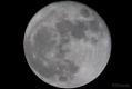 Eine Brennweite von 1600mm ist schon toll. So nah hatte ich den Mond noch nie dran.