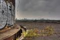 Am Schlot mit Blick auf das Thyssen-Stahlwerk