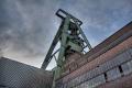 Das von Fritz Schupp entworfene Doppelstrebengerüst über Schacht Lohberg 2 von 1955 ist mit einer Höhe von 70,5 m das höchste Fördergerüst im Ruhrbergbau.