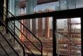 Blick auf die weiße Seite der Kokerei Zollverein